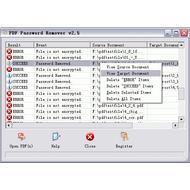 Скриншот PDF Password Remover 3.1